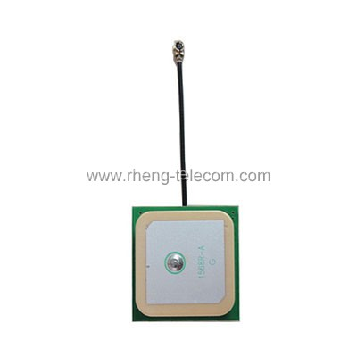 Built-in GPS antenna